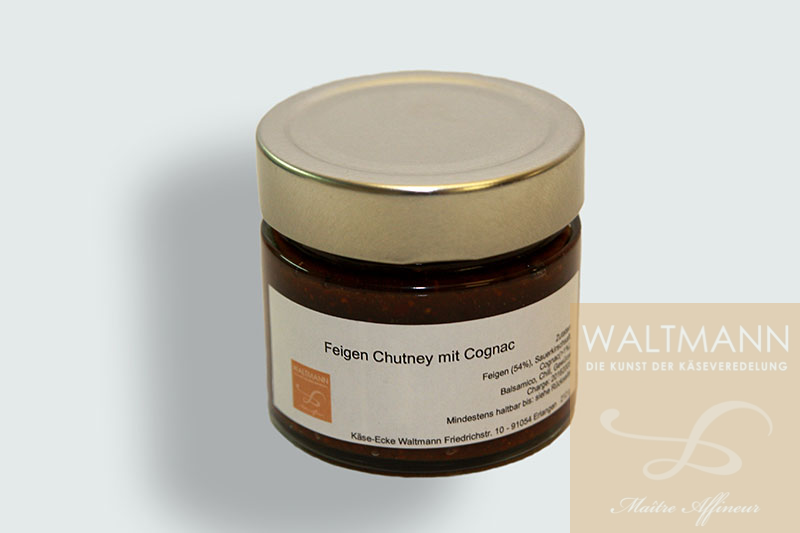 waltmann e k feigen chutney mit cognac. Black Bedroom Furniture Sets. Home Design Ideas